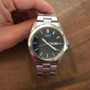 Accessories - Citizen quartz stainless steel watch